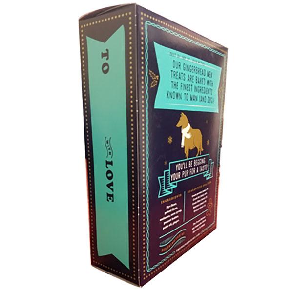 holiday gingerbread men dog treats 10oz boxes woof gang products. Black Bedroom Furniture Sets. Home Design Ideas